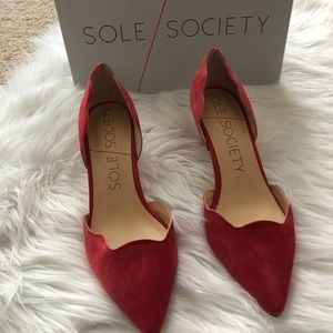 Sole Society Coral Heels